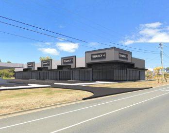 Virginia showroom retail strip for lease